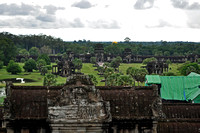 View from Atop Angkor Wat