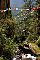 Prayer Flags on the Mountainside
