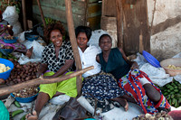 Ladies Working at the Market