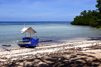 Outrigger on the Beach in Siquijor