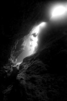 Caverns and Underwater Topography