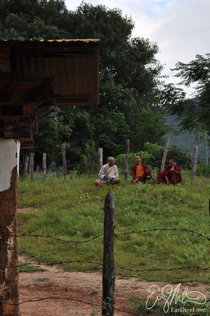 Monks Relaxing