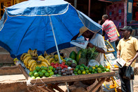 Fruit Market outside Kampala