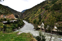River in Paro Valley