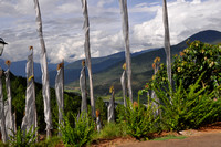 Prayer Flags over the Valley